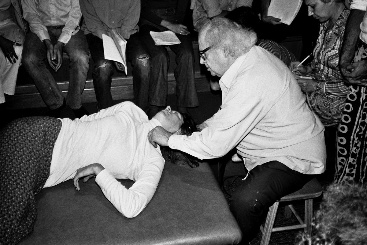 Moshe feldenkrais was a master at helping people with neck pain